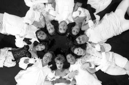 The cast of La Ronde, 1989.