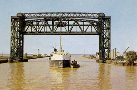 Ore Carrier, Cleveland, Ohio