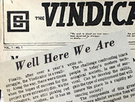 The Cleveland State University Vindicator, Volume 1, no.1