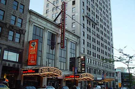 Playhouse Square in May of 2006
